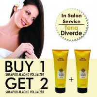 FLASH SALE!! Buy 1 Get 2 Terra Diverde Almond Volumizer Shampoo 250ml