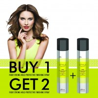 FLASH SALE!! Buy 1 Get 2 Style Perfetto Fixer Strong Hold Protective Finishing Spray 400 ML