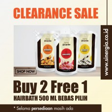 Buy 2 Free 1 Hairbath 500ml