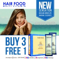 Buy 3 Free 1 Terra Diverde Hair Food Ocean Breeze Marine Essence 25 Gr (Isi 30)