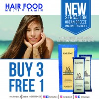 Buy 3 Free 1 Terra Diverde Hair Food Ocean Breeze Marine Essence 25 Gr (Isi 12)