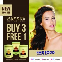 Buy 3 Free 1 Terra Diverde Hair Bath Vanilla 1000 Gr