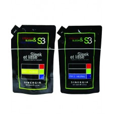 Paket Sleek et lisse Normal (Step 1 + Step 2) 130ml /pcs