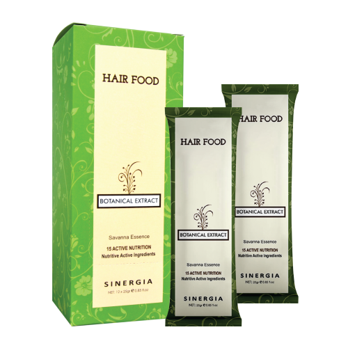 Terra Diverde Botanical Extract Hair Food 25 Gr (12Pcs)