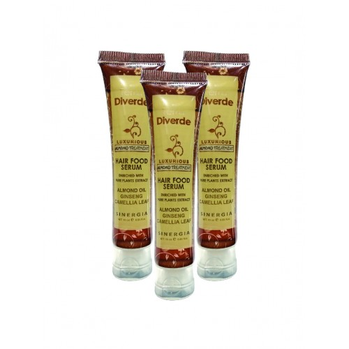 Terra Diverde Hair Food Serum Almond 16ml (12pcs)